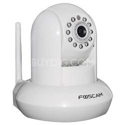 FI8910W Wireless/Wired Pan & Tilt IP/ 1 Unit Network Camera (White) -OPEN BOX