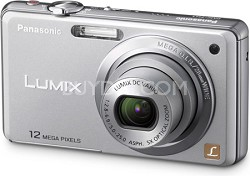 DMC-FH1S LUMIX 12.1 Megapixel Digital Camera (Silver)
