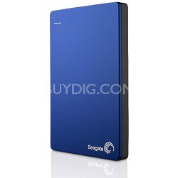 Backup Plus 2TB Portable External Hard Drive with Mobile Device Backup Blue