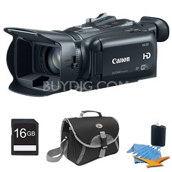 XA20 High Definition Professional Camcorder Plus 16GB Kit