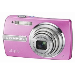 Stylus 840 8.1MP Digital Camera (Pink)