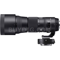 150-600mm F5-6.3 Contemporary Lens and TC-1401 1.4X Teleconverter Kit for Canon