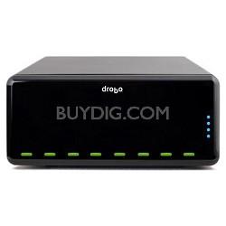 DRPR1A21 3.5in USB2.0 / 1394b / iSCSI DroboPro 8-Bay Business Class Storage Arra