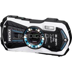Optio WG-2 White GPS-enabled Waterproof Shockproof Crushproof Digital Camera
