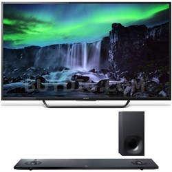 XBR-55X810C 55-Inch 4K UHD 120Hz Android Smart LED TV w/ Sony HT-NT5 Sound Bar