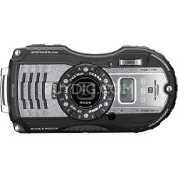WG-5 GPS 16MP F 2.0 Underwater Digital Camera - Gunmetal Gray