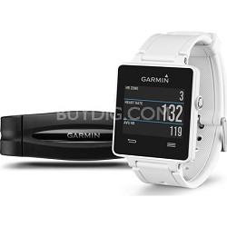 vivoactive GPS Smartwatch with Heart Rate Monitor - White (010-01297-11)