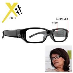 720P HD 5MP Digital Video Recording Hidden Camera Clear Lens Spy Glasses