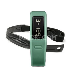 Vivofit w Heart Rate Monitor (Teal)(010-01225-33) Refurbished 1 Year Warranty