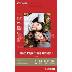 "Photo Paper Plus Glossy II 4"" X 6"" - 50 Sheets"