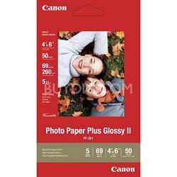 "Photo Paper Plus Glossy II 4"" X 6"" - 50 Sheets"