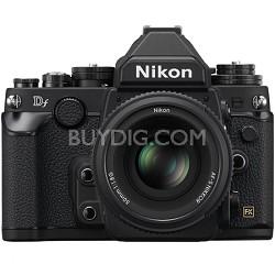 Df Full-Frame Digital SLR Camera with 50mm f/1.8 Special Edition Lens - Black