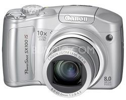 Powershot SX100 IS 8MP Digital Camera (Silver)