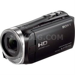HDR-CX455/B Full HD Handycam Camcorder with Exmor R CMOS Sensor - OPEN BOX
