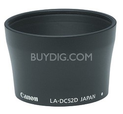 LA-DC52D  Lens Adapter  for Powershot A80 and A95