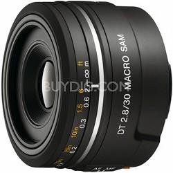 SAL30M28 - 30mm f/2.8 Macro SAM Lens for Sony Alpha DSLR's