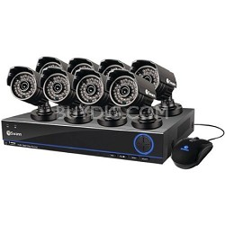 DVR8-3200 TruBlue 960H 8 Channel DVR with 1TB HDD & 8 x PRO-642 Cameras