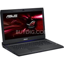 """G74SX-DH73-3D 17.3"""" Gaming Notebook PC Intel i7-2670QM - Black w/3D Vision Kit"""