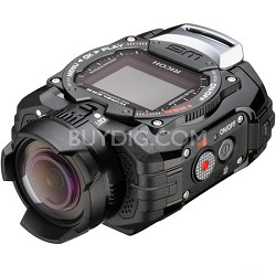 WG-M1 Compact Waterproof Action Digital Camera Kit - Black - OPEN BOX
