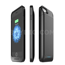 Elite Pro Battery Case for iPhone 6 and 6s, Black - OPEN BOX