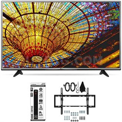 49UH6030 - 49-Inch 4K UHD Smart LED TV w/ webOS 3.0 Tilt Wall Mount Bundle