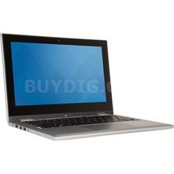 "Inspiron 11 11.6"" Touch HD i3000-12101SLV 128GB Intel Pentium N3700 Notebook PC"