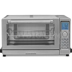 TOB-135 Deluxe Convection Toaster Oven Broiler - Brushed Stainless - Refurbished