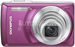 "Stylus 7030 14MP 2.7"" LCD Digital Camera (Purple)"