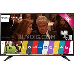 60UF7700 - 60-inch 240Hz 2160p 4K Smart LED UHD TV with WebOS