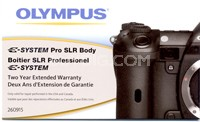 E-Pro SLR Body 2 Year Extended Warranty (3 Year Total Coverage)