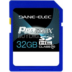32 GB Secure Digital High Capacity (SDHC) Memory Card Class 10