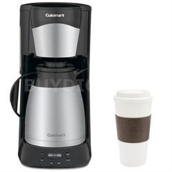 DTC-975BKN 12-Cup Programmable Thermal Coffeemaker (Black) w/ Copco 16oz. Mug