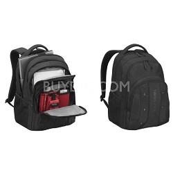 """Swissgear UPLOAD 16"""" Laptop Backpack - Black"""