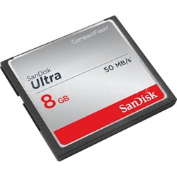 Ultra CompactFlash 8GB up to 50 MB/s Read Speed - SDCFHS008GA46x
