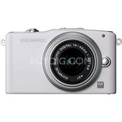 E-PM1 White w/14-42mm Lens