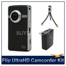 Ultra HD Camcorder Accessory Bundle (Black)