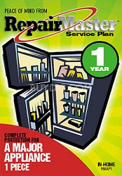 Repair Master One Year Extention Warranty for Appliances
