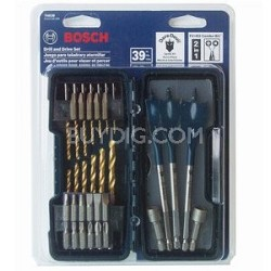 T4039 39 Piece Drill / Driver Set
