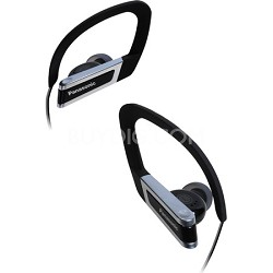 RP-HSC200-K Sports Clip Earphones with iPhone Controller (Black)