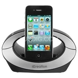 iCeation Advance Bluetooth Phone System w/ iPhone Dock- Black OPEN BOX