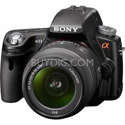 Alpha SLT-A33L 14.2 MP DSLR w/ Sony 18-55mm Lens