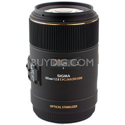 105mm F2.8 EX DG OS HSM Macro Lens for Nikon DSLR (258-306)