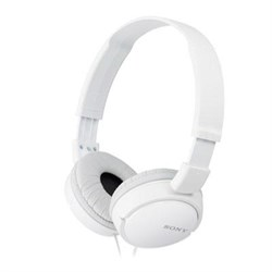 Studio Monitor Headphones in White - MDR-ZX110WHI