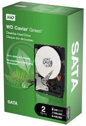 2TB WD Caviar Green Power-Saving Internal Hard Drive