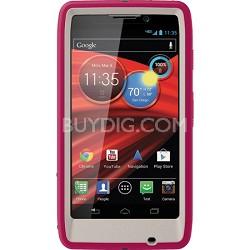 Defender Series Case for Motorola RAZR MAXX HD Retail Packaging - Blushed Pink