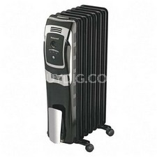 Radiator Heater 7 Fin Digital Controls Oil Fill