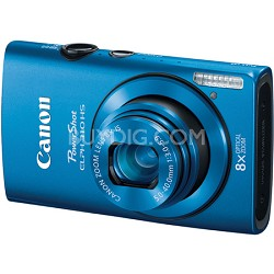 PowerShot ELPH 310 HS 12MP Blue Digital Camera w/ 8x Zoom, 1080p Video