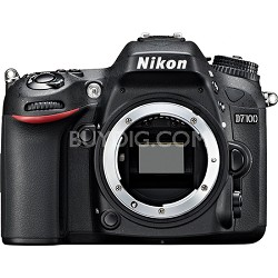 "D7100 DX-Format Digital HD-SLR Body with 3.2"" LCD Monitor"