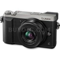 LUMIX GX85 4K Mirrorless Interchangeable Lens Camera with 12-32mm Lens - Silver