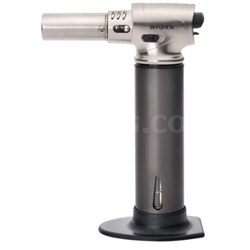 Creme Brulee Chef's Professional Culinary Torch with Fuel Gauge - OPEN BOX